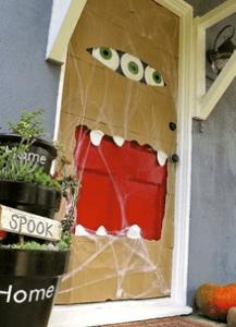 Paper Bag Monster Door
