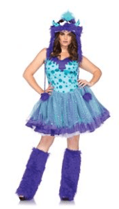 Polka Dotty Plus Size Adult Womens Costume