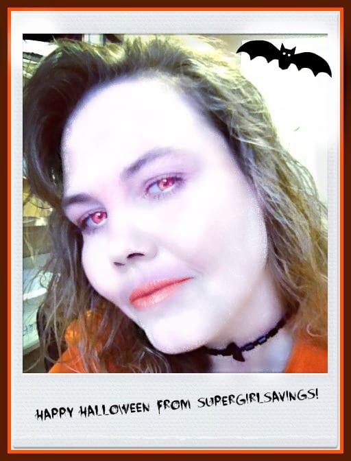 Happy Halloween From SuperGirlSavings!