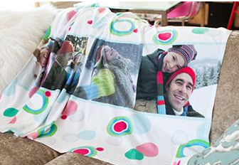 Custom Photo Fleece Blanket