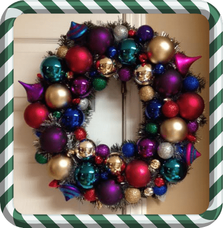 Ornament Wreath  Kitchen