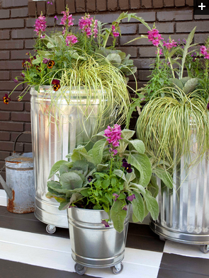 Create a Mobile Container Garden