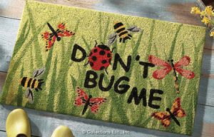 Don't Bug Me Welcome Door Mat