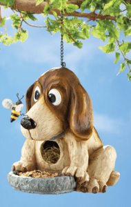 Hungry Dog Birdhouse and Bird Feeder