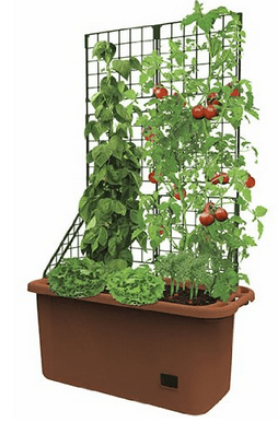 Hydrofarm GCTR Tomato Trellis Garden on Wheels