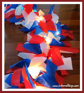 Fun Home Things DIY Patriotic Outdoor Garland