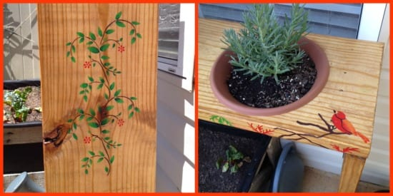 Herb Planter Decor
