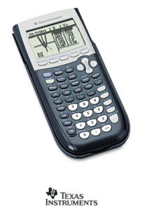 Texas Instruments TI 84 Plus Calculator