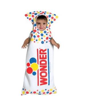 Wonder Bread Bunting Infant Costume