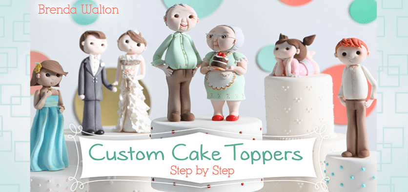 Learn How to Make Cake Toppers