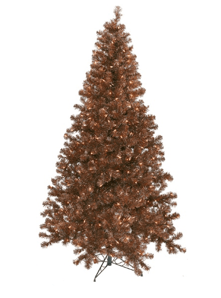 4 ft. Mocha Pre lit Christmas Tree