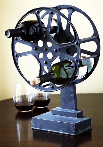 A Reel Work of Art Wine Rack