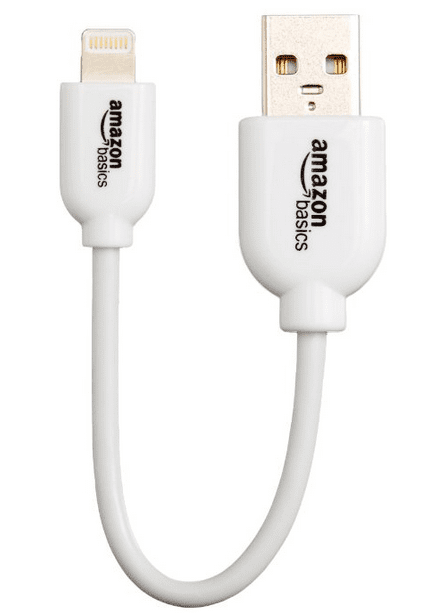 AmazonBasics USB Cable 4 Inches