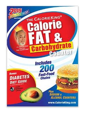 The CalorieKing Calorie  Fat   Carbohydrate Counter 2015  Larger Print Edition  Allan Borushek  9781930448612  Amazon.com  Books