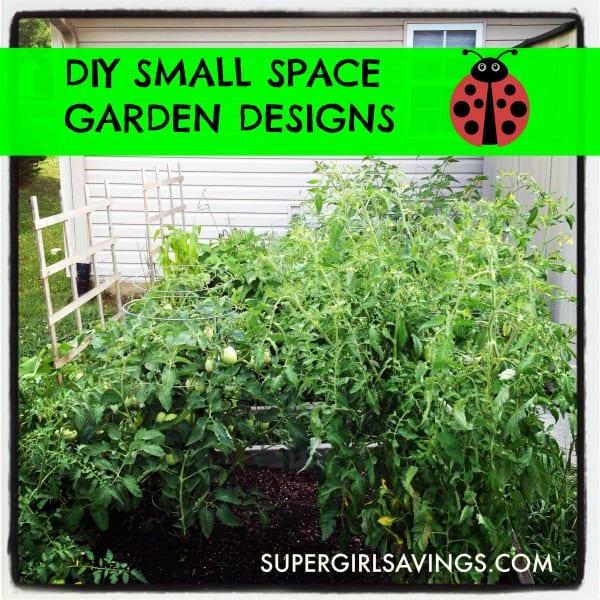 DIY Small Space Garden Design Ideas