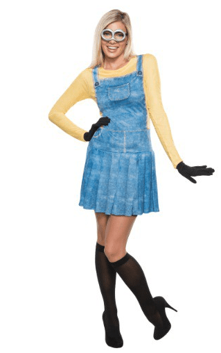 Adult Womens Minion Costume