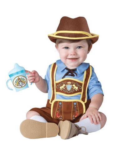 Infant Toddler Little Lederhosen Costume
