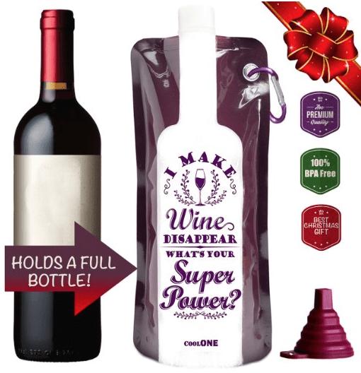 Take A Wine Foldable Wine Bottle