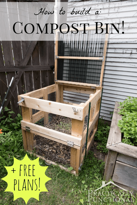 How To Build A DIY Compost Bin