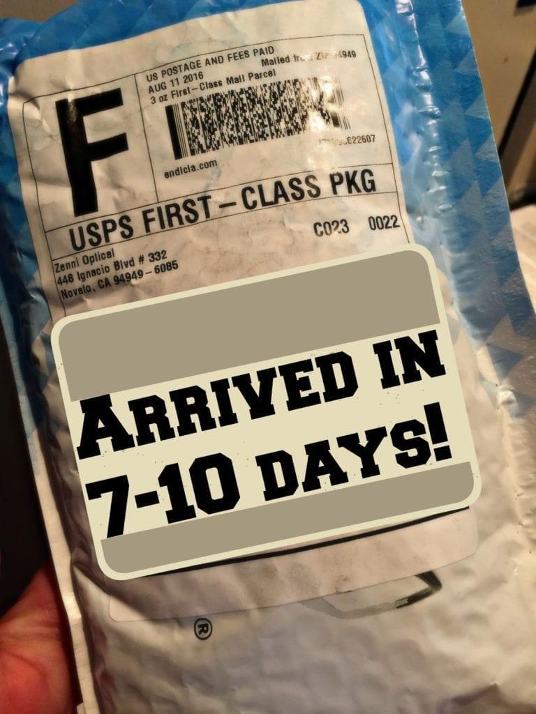 Zenni Package