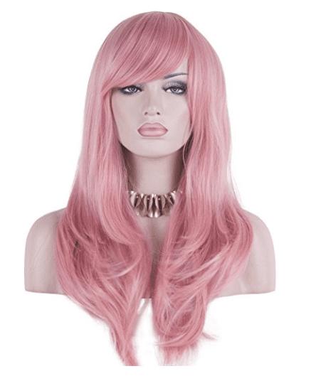 long-pink-hair-halloween-wig